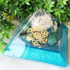 Orgonite Giza piramides large